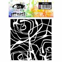 Visible Image - 6 x 6 Stencil - Ink Swirls