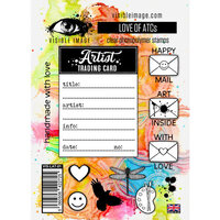 Visible Image - Clear Photopolymer Stamps - Love of ATCs