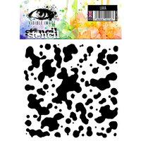 Visible Image - 6 x 6 Stencil - Lava