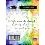 Visible Image - Clear Acrylic Stamps - Life Can Be Tough