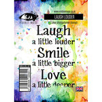 Visible Image - Clear Acrylic Stamps - Laugh Louder