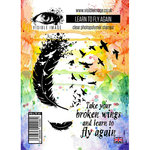 Visible Image - Clear Acrylic Stamps - Learn To Fly Again