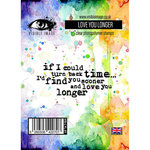 Visible Image - Clear Acrylic Stamps - Love You Longer