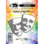 Visible Image - Clear Acrylic Stamps - Maskerade