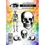 Visible Image - Clear Acrylic Stamps - Mr Bone Jangles