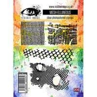 Visible Image - Clear Acrylic Stamps - Mesh-ellaneous