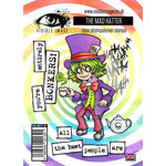 Visible Image - Alice in Wonderland Collection - Clear Acrylic Stamps - The Mad Hatter