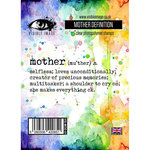 Visible Image - Clear Acrylic Stamps - Mother Definition