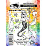 Visible Image - Clear Photopolymer Stamps - Mythical Mermaid