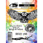 Visible Image - Clear Photopolymer Stamps - Night Owl
