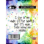Visible Image - Clear Acrylic Stamps - My Own Little World