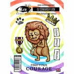 Visible Image - Wizard of Oz Collection - Clear Photopolymer Stamps - Cowardly Lion