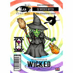 Visible Image - Wizard of Oz Collection - Clear Photopolymer Stamps - Wicked Witch