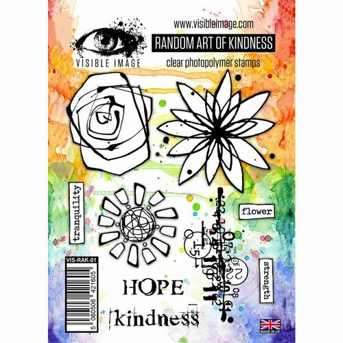 Visible Image - Clear Photopolymer Stamps - Random Art of Kindness