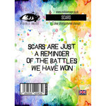 Visible Image - Clear Acrylic Stamps - Scars