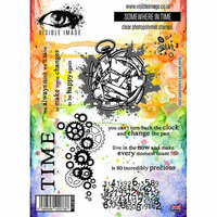 Visible Image - Clear Acrylic Stamps - Somewhere In Time