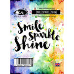 Visible Image - Clear Acrylic Stamps - Smile Sparkle Shine