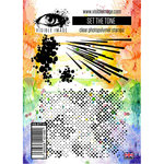 Visible Image - Clear Acrylic Stamps - Set The Tone