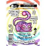 Visible Image - Alice in Wonderland Collection - Clear Acrylic Stamps - The Cheshire Cat