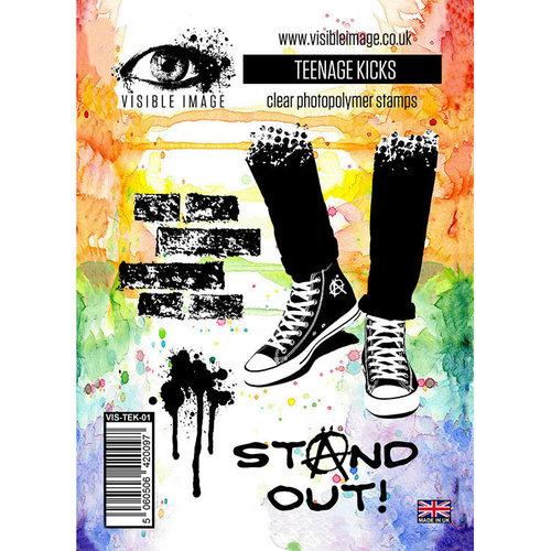 Visible Image - Clear Acrylic Stamps - Teenage Kicks