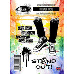 Visible Image - Clear Acrylic Stamps - Teenage Kicks