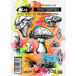 Visible Image - Clear Photopolymer Stamps - Totally Toadstools