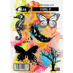 Visible Image - Clear Photopolymer Stamps - VI Minis - Set 01