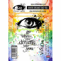 Visible Image - Clear Acrylic Stamps - Where Dreams Take You