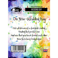 Visible Image - Clear Photopolymer Stamps - Wedding Day