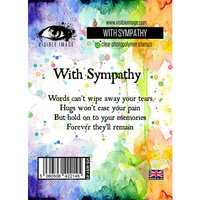 Visible Image - Clear Photopolymer Stamps - With Sympathy