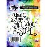 Visible Image - Clear Acrylic Stamps - Window To Your Soul