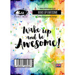 Visible Image - Clear Acrylic Stamps - Wake Up Awesome