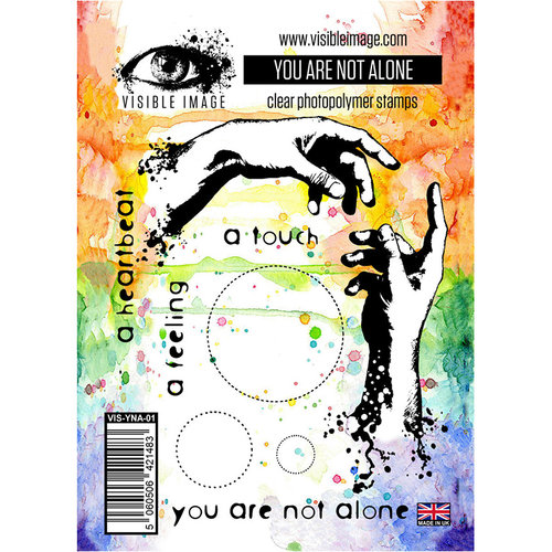 Visible Image - Clear Acrylic Stamps - You Are Not Alone