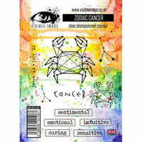 Visible Image - Clear Acrylic Stamps - Zodiac Cancer