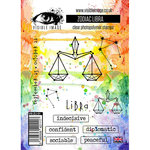 Visible Image - Clear Acrylic Stamps - Zodiac Libra