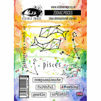 Visible Image - Clear Acrylic Stamps - Zodiac Pisces