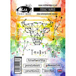 Visible Image - Clear Acrylic Stamps - Zodiac Taurus