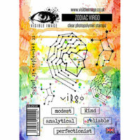 Visible Image - Clear Acrylic Stamps - Zodiac Virgo