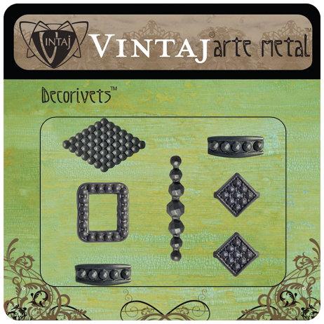 Vintaj Metal Brass Company - Arte Metal - Decorivets - Marcasite