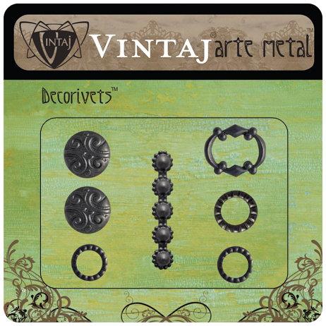 Vintaj Metal Brass Company - Arte Metal - Decorivets - Hobnail