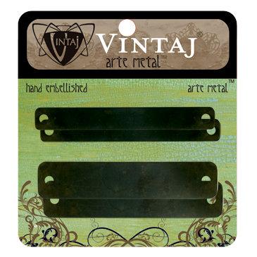 Vintaj Metal Brass Company - Arte Metal - Hardware - Name Plates