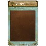 Vintaj Metal Brass Company - Metal Altered Blank Canvas - 4 x 5