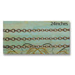 Vintaj Metal Brass Company - Metal Jewelry Chain - Cable