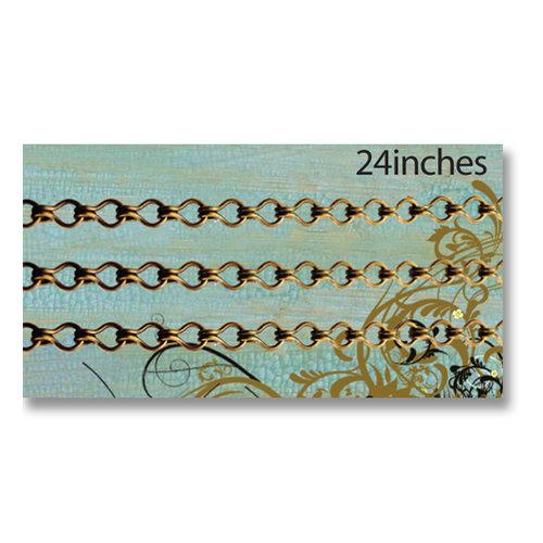 Vintaj Metal Brass Company - Metal Jewelry Chain - Ladder