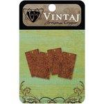 Vintaj Metal Brass Company - Artisan Copper - Metal Altered Blanks - Small - Rectangle