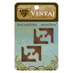 Vintaj Metal Brass Company - Metal Embellishments - Corners - Decor