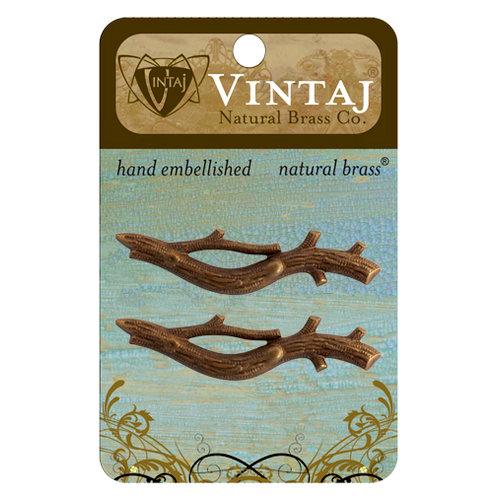 Vintaj Metal Brass Company - Metal Embellishments - Branch