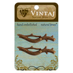 Vintaj Metal Brass Company - Metal Embellishments - Branch