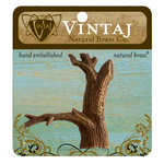 Vintaj Metal Brass Company - Metal Embellishments - Tree