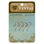 Vintaj Metal Brass Company - Metal Jewelry Hardware - French Ear Wires